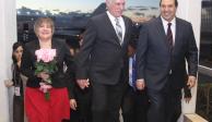 Llega Presidente de Cuba para toma de posesión de López Obrador