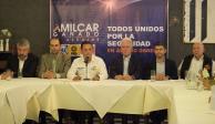 Anuncian Alejandro Martí y Amílcar Ganado acuerdo de seguridad