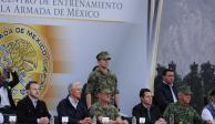 Entregan Del Mazo y EPN centro de adiestramiento de la Marina