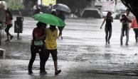 Por lluvia vespertina emiten Alerta Amarilla en 7 delegaciones