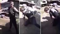 VIDEO: Hombre se dispara para probar chaleco antibalas