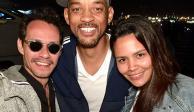 """Marc Anthony enseña a Will Smith a bailar salsa al ritmo de """"Vivir mi vida"""""""