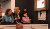 VIDEO: Tras subastarse, obra de Banksy se autodestruye
