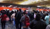 Caos vial y retrasos en el Metro por tormentas en la CDMX