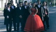 VIDEO: Lucero, la primera quinceañera en posar para fotos en Los Pinos