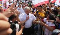 Reitera AMLO intención de cancelar el NAICM y la Reforma Educativa