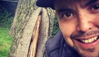 """Mauricio Clark levanta polémica por """"aparición"""" de virgen en su casa"""