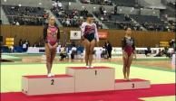 La gimnasta mexicana Alexa Moreno gana medalla de oro en Japón