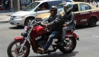 Suspendido, el trámite de placas para motocicletas en la CDMX