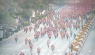 Cerradas avenidas de la CDMX por eventos deportivos y religiosos