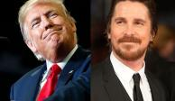 Trump pensó que era Bruce Wayne, relata Christian Bale