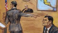 Zambada afirma que pagó soborno para que teniente dejara libre al Chapo