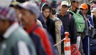 De Mixhuca a Casa del Peregrino, alistan traslado de migrantes