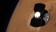 Lo logra la NASA; aterriza la sonda InSight en Marte