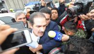 Otorgan libertad a Padrés por defraudación... pero seguirá preso por lavado