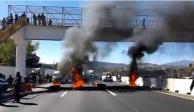 VIDEO: Ardió la México - Puebla por presunta detención de regidor huachicolero