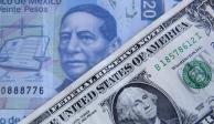 Continúa dólar superando la barrera de los 21 pesos