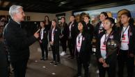 Se reúne Del Mazo con Selección Mexicana Femenil Sub 17