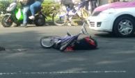 Chofer de camión atropella a ciclista y lo mata en la Cuauhtémoc