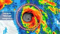"""""""Michael"""" alcanza fuerza de huracán categoría 3"""