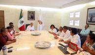 Recibe Héctor Astudillo a autoridades de Ayutla, electas por Usos y Costumbres