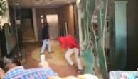 VIDEO: Maestros de la Ceteg vandalizan Congreso de Guerrero