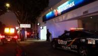 Intentan asaltar sucursal bancaria en CDMX pero les cae la Policía