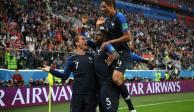 Con victoria 1-0 sobre Bélgica, Francia es el primer finalista de Rusia 2018