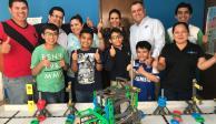 Seguritech apoya a niños en mundial de robótica