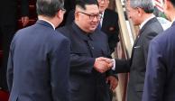 Arriban Trump y Kim Jong Un a Singapur para histórica reunión
