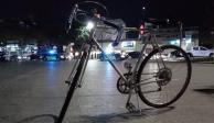 Así despidieron a Emmanuel Vara, activista por los derechos del ciclista