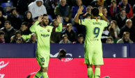 Con Hat-Trick de Lionel Messi, Barcelona golea al Levante