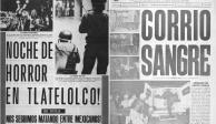 FOTOS: Prensa y propaganda de octubre de 1968