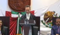 Manuel Velasco destaca en Informe de Gobierno seguridad en Chiapas