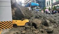 FOTOS: Deslave en Bosques de las Lomas sepulta autos