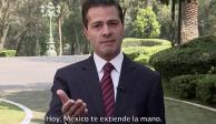 """Anuncia EPN el plan """"Estás en tu Casa"""" de apoyo a migrantes"""