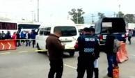 Matan a pasajero que se opuso a robo en la México - Pachuca