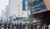 PGJ investiga colapso de centro comercial en el Pedregal