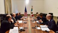 Acuerdan México y EU mantener diálogo en la actual administración