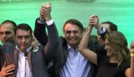 Bolsonaro logra en Brasil votación abrumadora; habrá segunda vuelta