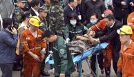 Derrumbe en mina de carbón en China deja dos muertos
