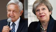 AMLO conversa con Theresa May sobre proyectos de cooperación