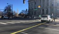 Reportan tiroteo cerca del capitolio en Colorado