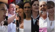 Candidatos capitalinos felicitan a mamás en su día