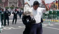 SSPCDMX vigila actividades en el Zócalo por festejos patrios