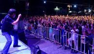 Celso pide unidad y pone a bailar a Jojutla a casi 4 meses del sismo
