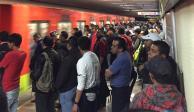 Por tercer día consecutivo, el Metro registra retrasos
