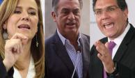 TEPJF ordena aumentar monto de sanciones a Zavala, Bronco y Ríos Piter