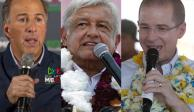 Continúan candidatos campañas en SLP, Hidalgo y Guanajuato