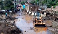 Suman 9 los fallecidos por desbordamiento de río en Peribán